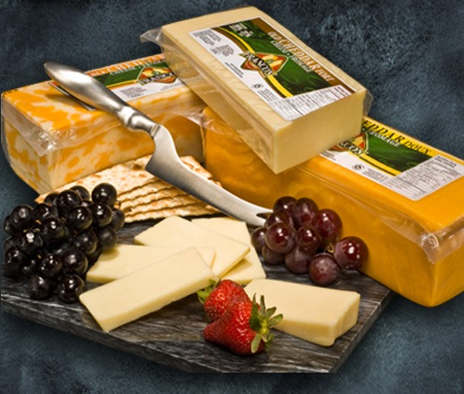 Cheddar Cheese - mild, medium, marble and old white