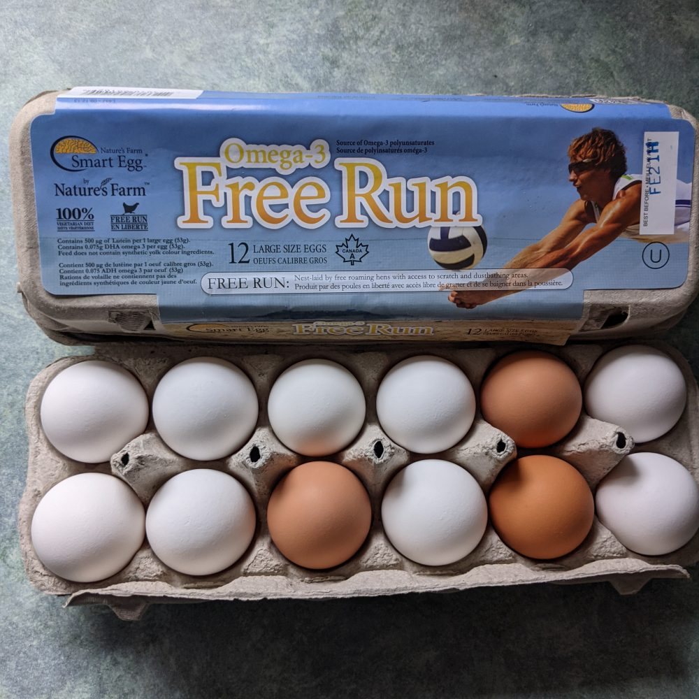 Free Run Eggs - dozen or flat